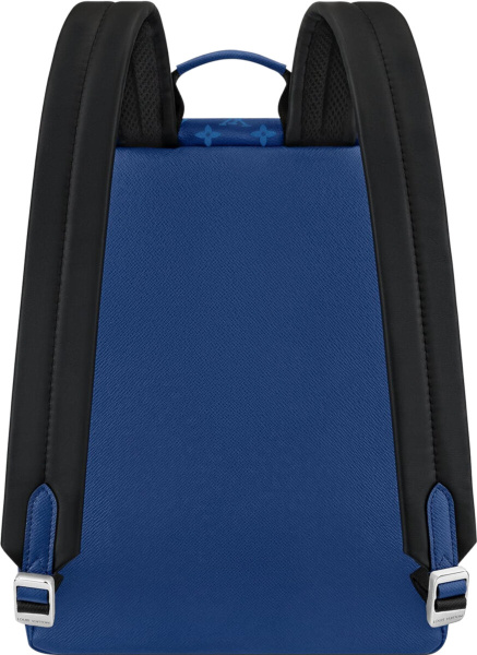 Louis Vuitton Blue Monogram Print Backpack