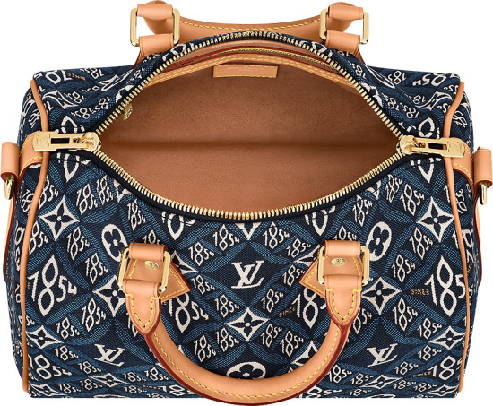 Louis Vuitton Blue Since 1854 Monogram Jacquard Bandouliere 25 Bag