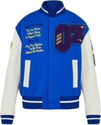 Louis Vuitton Blue Varsity Jacket Wizard Of Oz