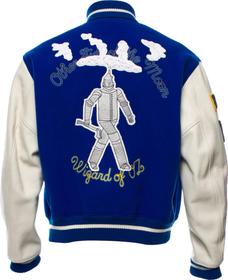 Louis Vuitton Blue Wizard Of Oz Varsity Jacket