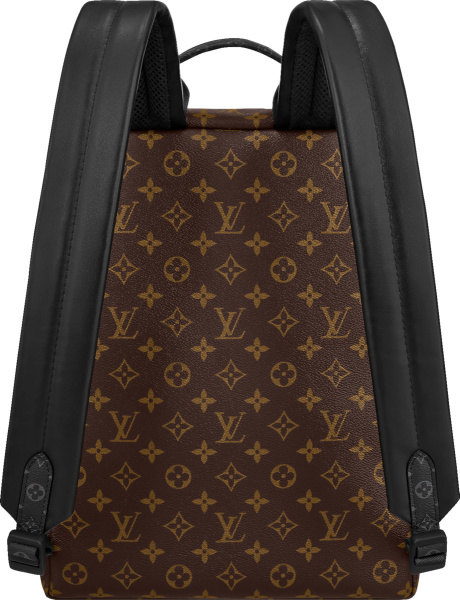Louis Vuitton Brown Monogram And Yellow Purple Logo Discovery Backpack