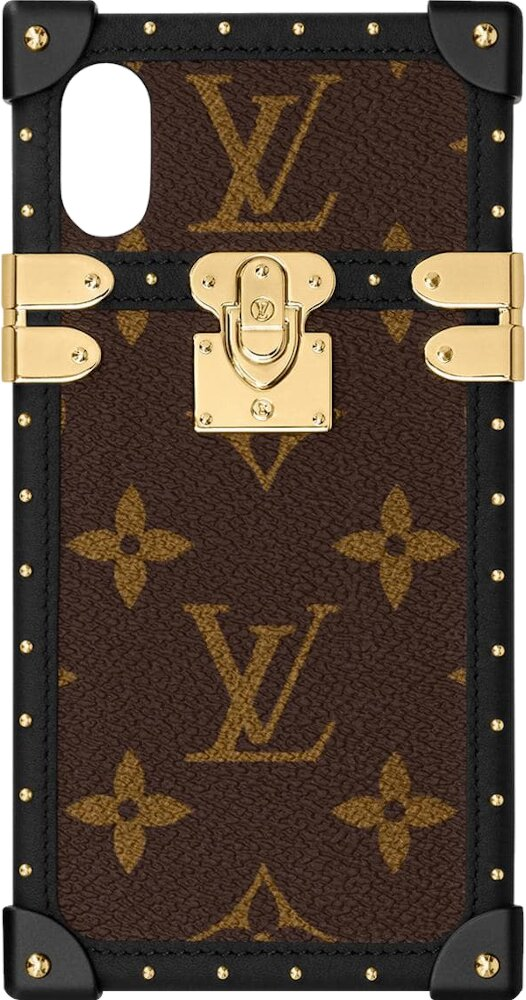 Louis Vuitton Brown Monogram Eye Trunk Phone Case
