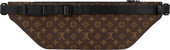 Louis Vuitton Brown Monogram Pouch Belt Bag