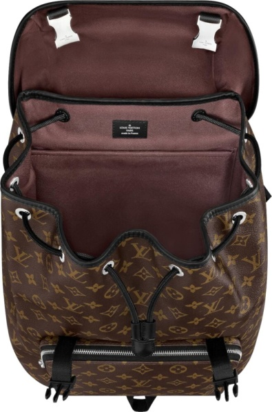 Louis Vuitton Brown Monogram Print Zack Bag