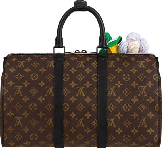 Louis Vuitton Brown Monogram Puppet Friends Duffle Bag