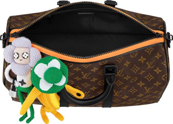 Louis Vuitton Brown Monogram Puttet Keepall 40 Duffle Bag