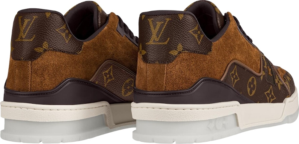 Louis Vuitton Brown Monogram Trainer Sneakers