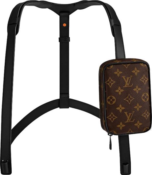 Louis Vuitton Brown Monogram Utility Harness