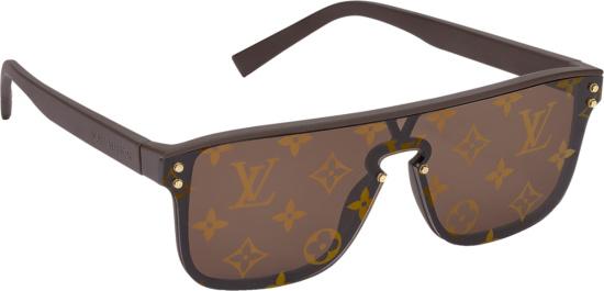 Louis Vuitton Brown Monogram Waimea Sunglasses