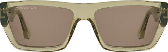 Louis Vuitton Brown Twister Sunglasses