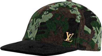 Louis Vuitton Camo Corduroy Hat