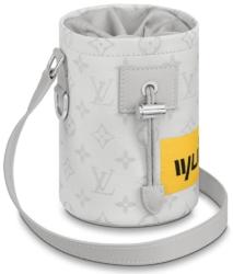 Louis Vuitton Chalk Nano Bag