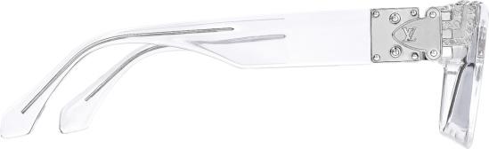 Louis Vuitton Clear Transparent 2054 1 1 Millionaires Sunglasses