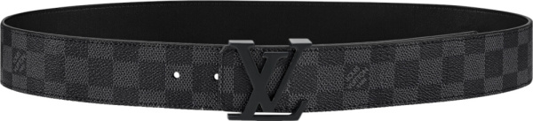 Louis Vuitton Damier Check Belt