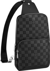 Louis Vuitton Damier Infini Leather Avenue Sling Bag