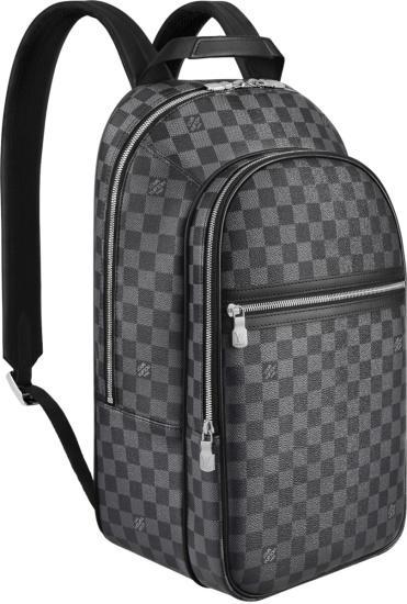 Louis Vuitton Dark Grey Damier Michael Backpack