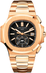 Louis Vuitton Gold And Black Nautilus Watch