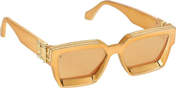 Louis Vuitton Gold Millionaires Sunglasses