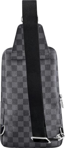 Louis Vuitton Graphite Check Canvas Sling Bag