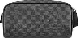 Louis Vuitton Graphite Damier Dopp Pouch