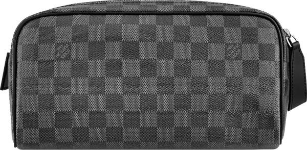 Louis Vuitton Graphite Damier Dopp Pouch