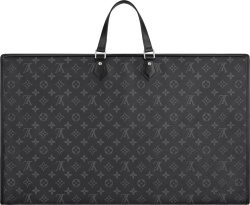 Louis Vuitton Graphite Monogram Eclipse Garment Bag