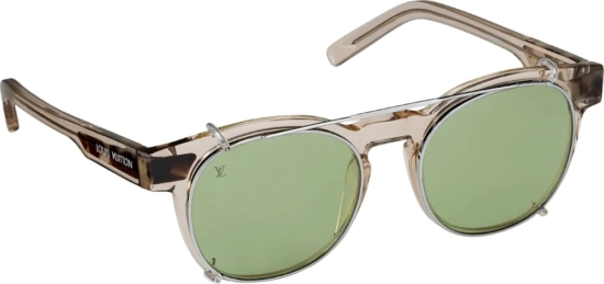 Louis Vuitton Green And Brown Jungle Sunglasses