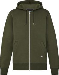Louis Vuitton Green Travel Zip Hoodie 1a5d46