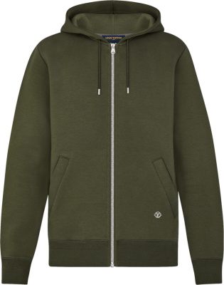 Louis Vuitton Green Travel Zip Hoodie 1a5d46