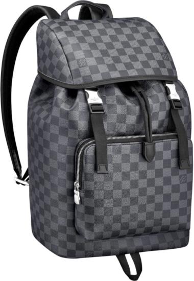 Louis Vuitton Grey Check Zach Backpack