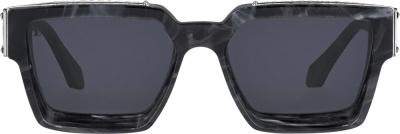 Louis Vuitton Grey Marble Sunglasses