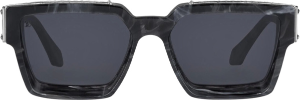 Louis Vuitton Grey Marble Sunglasses