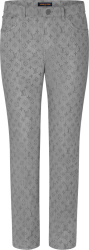 Louis Vuitton Grey Monogram Jeans 1a8fi2