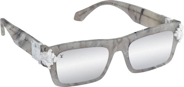 Louis Vuitton Grey Montgomery Sunglasses