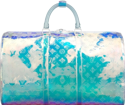 Louis Vuitton Iredescent Hologram Prism Keepall