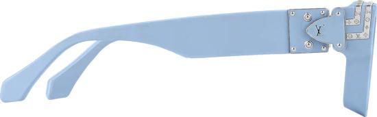 Louis Vuitton Light Blue Millionaires Sunglasses
