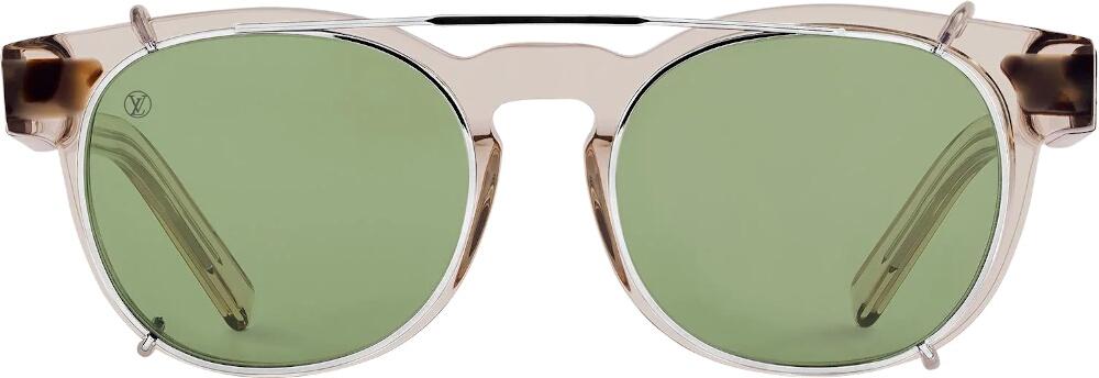 Louis Vuitton Light Brown And Tortoise Jungle Sunglasses
