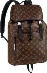 Louis Vuitton Monogram Print Brown Zack Backpack