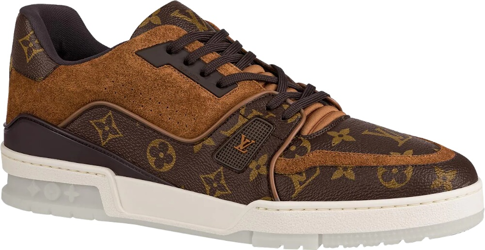 Louis Vuitton Monogram Print Trainer Sneakers
