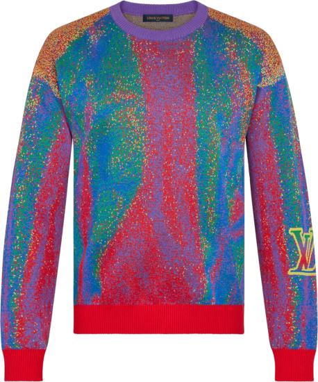 Louis Vuitton Multicolor Infared Sweater