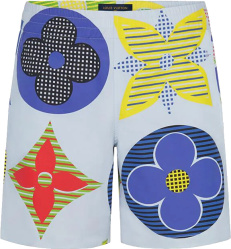 Louis Vuitton Multicolor Monogram Board Shorts 1a7xuv