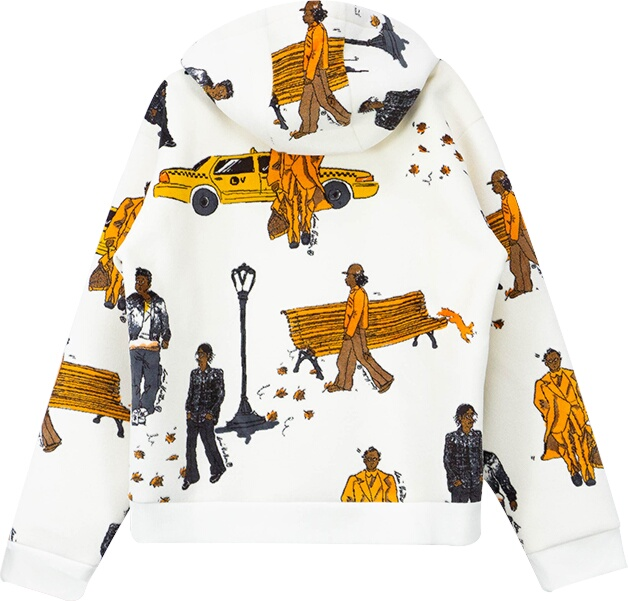 Louis Vuitton New Walkers Hoodie