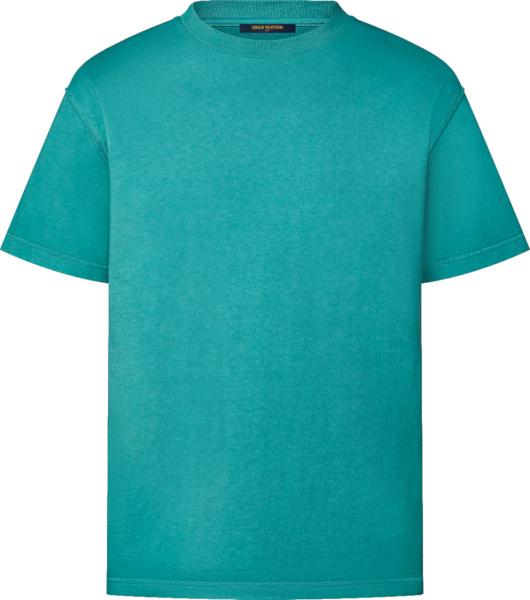Louis Vuitton Ocean Blue Inside Out T Shirt 1a99yr
