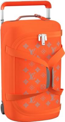Louis Vuitton Orange Horizon Soft Rolling Luggage