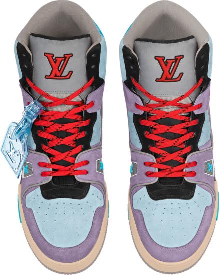 Louis Vuitton Pastel Sneakers Boots