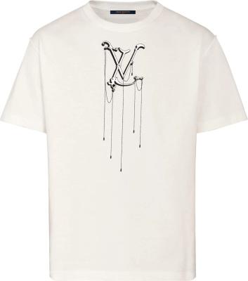 Louis Vuitton Pendant Embroiderd T Shirt 1a5ves