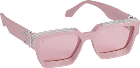 Louis Vuitton Pink 1.1 Millionaires Sunglasses