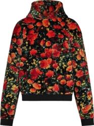 Louis Vuitton 'poppies' Hoodie