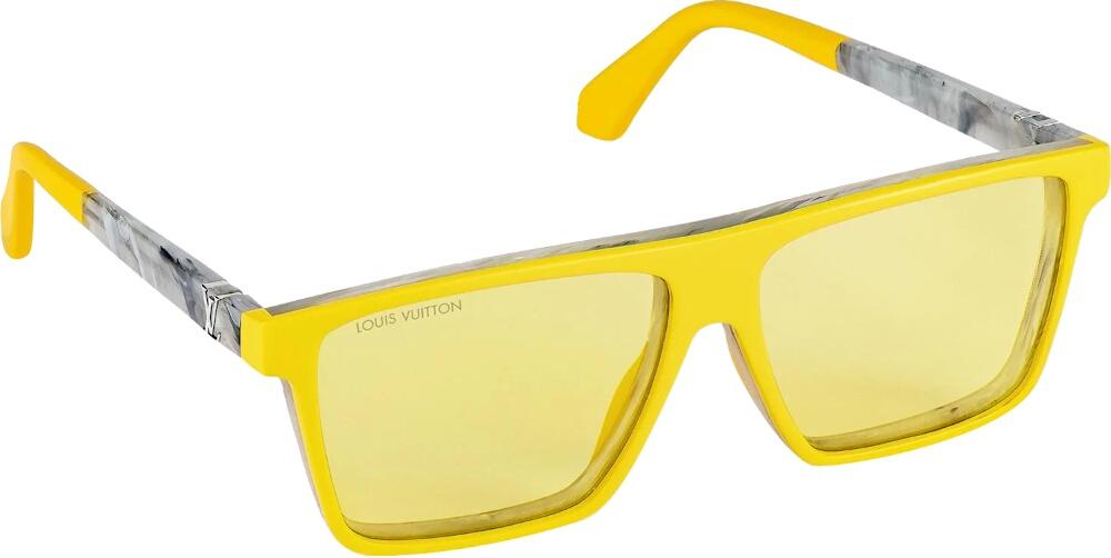 Louis Vuitton Portland Sunglasses Yellow