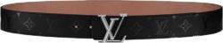 Black Monogram 'LV Pyramide' Belt